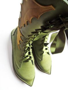 Boots Pagan Wicca Witch:  Elven #boots.