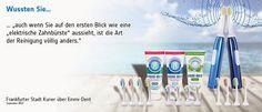 Überlegene Dental Hygiene durch 100% Ultraschall. Hier geht es zu mehr Infos und zum Shop: www.ultraschall-wirkung.de