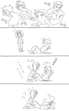 Compartire unos buenos memes que a echo la comunidad, sobre King y Di… #detodo # De Todo # amreading # books # wattpad Anime Couples Drawings, Anime Couples Manga, Couple Drawings, Fairy Tail Natsu And Lucy, Fairy Tail Manga, Seven Deadly Sins Anime, 7 Deadly Sins, Anime Nerd, Otaku Anime