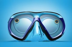 the Royal Caribbean SeaSeekers are a new scuba mask design that was created in collaboration with Snapchat in order to let travelers snap while they swim. The mask features Snapchat Spectacles that have been incorporated into the design in order to let we
