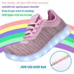 TUTUYU LED Kids 11 Farbes LED TUTUYU Light Up Schuhe High Top Fashion Flashing d2b127