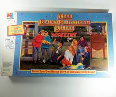The Baby-Sitters Club Mystery game   55 Toys And Games That Will Make '90s Girls Super Nostalgic