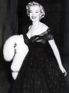 Marilyn Monroe at the Oscars 1951