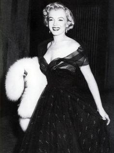 Marilyn Monroe at the Oscars 1951