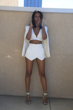 All White Party Outfit Ideas For Women: Street Style Inspiration 2019 All White Party Outfits, White Outfits For Women, Party Outfits For Women, All White Outfit, Summer Outfits, Clothes For Women, White Dress, White Women, Summer Birthday Outfits