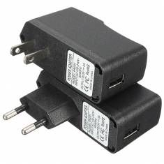 AC 100-240V DC 5V 2A USB Power Supply Adapter Charger US/EU Plug