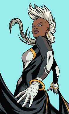 "superheroesincolor: ""Storm, Ororo Munroe ""When I was just a girl, I called myself goddess… and I lived in the sky. Sometimes I wonder why I ever left"" """