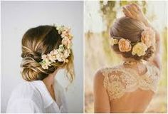 Acconciatura da Sposa alternativa? Vi presento le Coroncine di fiori! ~ Il Blog di Zagara