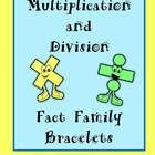 TpT Sale - Basic Facts BRACELETS for Multiplication and Division