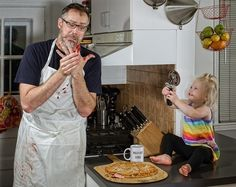 Dave Engledow's amazing father/daughter photos