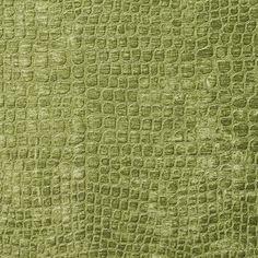 Spring Green Shiny Reptile Skin Look Velvet Upholstery Fabric