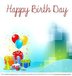 Happy Birthday Background Images Wallpapers And Pictures Happy