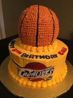 Cleveland Cavaliers birthday cake                                                                                                                                                                                 Más
