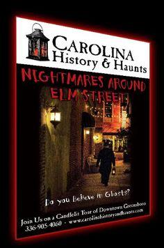 Carolina History & Haunts, Inc. - Nightmares Around Elm Street - Greensboro, North Carolina Ghost Tour  Highly suggest this to anyone near the area!