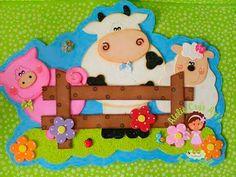 moldes plaquinha porta animais fazendinha vaquinha porquinho ovelhinha artesanato4