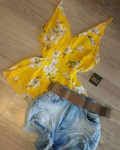 Girly Outfits, Short Outfits, Casual Outfits, Summer Outfits, Cute Outfits, Teen Fashion, Love Fashion, Womens Fashion, Teen Closet