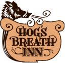 """""""Hogs Breath Inn""""  Dog friendly patio with multiple fireplaces and AMAZING food!"""