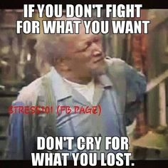 If you don't fight for what you want, don't cry for what you lost. Funny True Quotes, Sarcastic Quotes, Funny Memes, Funny Shit, Funny Stuff, Hilarious, Relationship Quotes, Life Quotes, Relationships