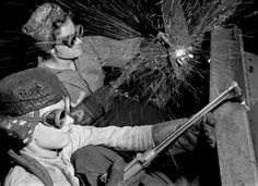 The Photography of Margaret Bourke-White - The Atlantic George Washington, Margaret Bourke White, Steel Mill, Design Tattoo, Rosie The Riveter, Design Poster, Branding, Life Pictures, Photos Of Women