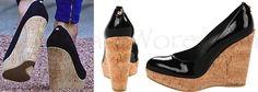 Kate Stuart Weitzman Corkswoon Espadrilles Torch Relay Close up & products Shots UK Press Association