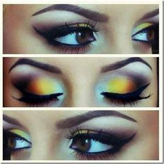 Makeup Ideas : Crazy Eye Makeup For Brown Eyes Crazy Eye Make Up from Unique Inspiration Pretty Eyeshadow Ideas. Eyeshadow For Blue Eyes. Eyeshadow Ideas For Brown Eyes. Eye Makeup, Makeup Tips, Hair Makeup, Makeup Tutorials, Makeup Ideas, Makeup Lessons, Night Makeup, Ugly Makeup, Makeup Quiz