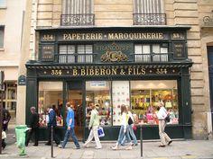 Handbag shop in Paris by alysev, via Flickr
