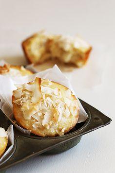gluten free pineapple and coconut muffin recipe