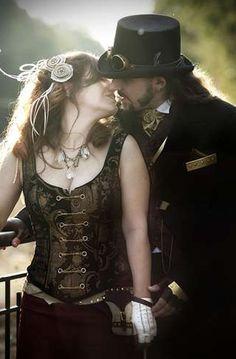 steampunk wedding dress http://www.designyourownperfume.co.uk