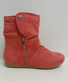 This Coral Klein Slouch Ankle Boot by Step Up Shoes is perfect! #zulilyfinds