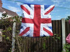 Handmade Union Jack peg bag handmade gift by KelwayCraftsYorkshir, £4.93