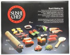 Sushi Chef Sushi Making Kit --- http://www.amazon.com/Sushi-Chef-Making-Kit/dp/B000H241DS/ref=sr_1_18/?tag=homemademo033-20
