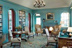 Turquesa, el nuevo azul del hogar