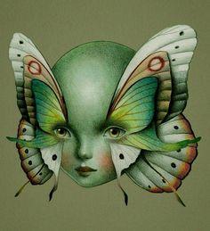 Guache, Unusual Art, Psychedelic Art, Aesthetic Art, Picsart, Art Inspo, Art Reference, Cool Art, Art Drawings