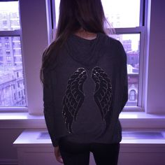 Wear ANGELIC NYC to school tomorrow for a chance to be featured on the Insta, just like @gabbychap_99!! #loveyou #fiftyshadeshoodie #springbreakforever #angelicnyc #calhoun @calhounschool @calhounspiritsquad @calhoun_cco