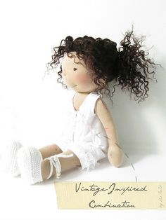 Vintage-Inspired Combination waldorf doll