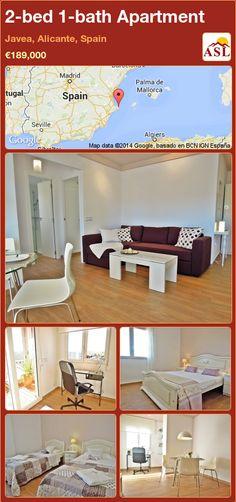 2-bed 1-bath Apartment in Javea, Alicante, Spain ►€189,000 #PropertyForSaleInSpain
