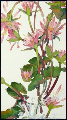 BRUSH - PAPER - WATER: watercolor Gary Bukovnik - Monet's Dream