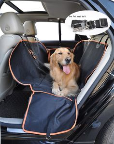 Pet Seat Cover Waterproof Car Bench For Pets Click Image More