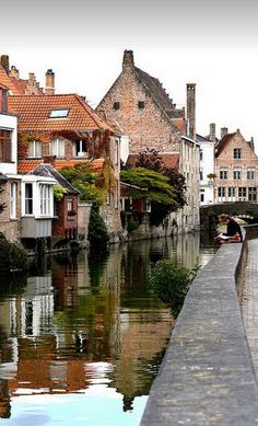 Visions of Bruges / Belgium (by Shaun Jeffrey). Bruges is the truest Renaissance town today, I loved it...Kate