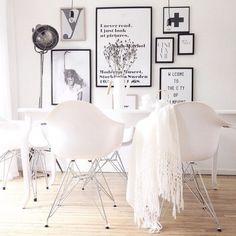 Sala+de+jantar+em+estilo+nórdico+escandinavo