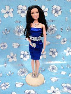 Pattern for Barbie Slim Dress | by BFashions