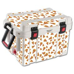 MightySkins Protective Vinyl Skin Decal for Pelican 35 qt Cooler wrap cover sticker skins Body By Pizza >>> Want additional info? Click on the image.(This is an Amazon affiliate link and I receive a commission for the sales)