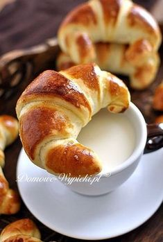 Baby Puree Recipes, Baby Food Recipes, Sweet Recipes, Dessert Recipes, Cooking Recipes, Polish Desserts, Sweet Buns, Coffee Dessert, Sweet Pastries