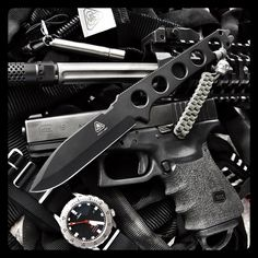 PDW Special Projects Division Griffin™ in Black CeraKote.
