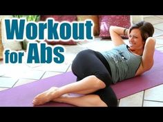 Abs Workout for Core Strength, Fitness Training for Weight Loss, Home Exercise Routine for Beginners
