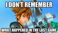 Kingdom Hearts 3! Wait... haha I stopped after the 2nd or 3rd random handheld game tied to the series... so it's been awhile!!!