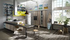 Introducing the new Lab 13 kitchen from Aran Cucine at @isaloni New ...