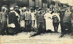 Toutes les tailles | A Group of Algerians Caids during the First World War, Toulouse, 1914 | Flickr : partage de photos !