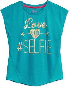 Epic Threads Girls' Selfie Graphic Tee