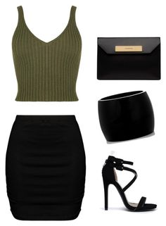 """When in doubt where black."" by shaunamariewells on Polyvore featuring Zizzi, Qupid, Balenciaga and Alexander McQueen"